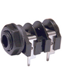 Flush-mounted jack socket 6.35 mm 2P Buy {0}