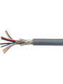 Control cable, 10 x 0.14 mm², Shielded, Bare Copper Stranded Wire, Grey Buy {0}
