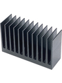 Heat sink 37.5 mm 1.7 K/W  @ 40 W black anodised Buy {0}