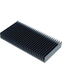Heat sink 100 mm 1.1 K/W  @ 75 W black anodised Buy {0}