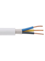 Mains cable   5 x2.50 mm² Copper wire bare unshielded PVC white Buy {0}