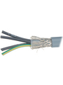 Control cable 5 x 2.5 mm² Shielded Bare Copper Stranded Wire Grey Buy {0}